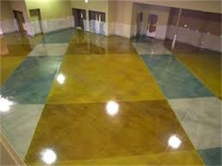 Custom Stained Concrete Floors : Custom concrete acid stain floors dunwoody